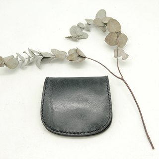 Rejection flower gray Series - Horseshoe purse