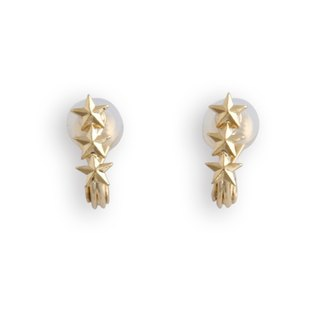 JewCas Air Earring series of elegant star earrings _JC2658