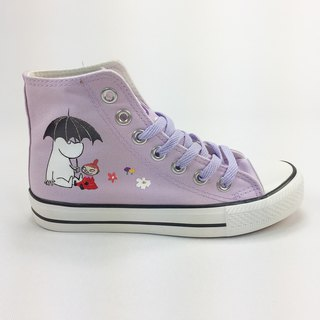 Moomin Moomin Authorized - Canvas Shoes (Purple Shoes Purple / Women's Limited Edition) -AE02