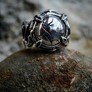 | Alarein | handmade silver | Forest Series | Ring | Dasent
