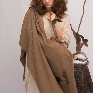 轲 artificial material original design spring and autumn and winter sprouts imitation cashmere long paragraph shawl female solid color scarf Sen rural wind