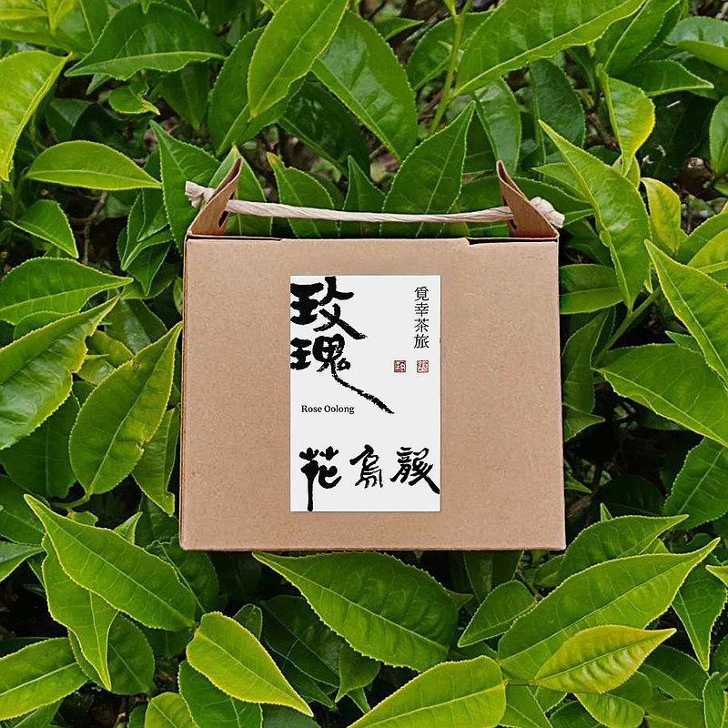 玫瑰花烏龍 | 茶包10入【優雅玫瑰】