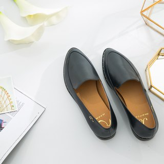Erato-Shen Jing Lan-Handmade Leather Wenlan Loafers