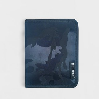 Murmur Passport Case / Passport Holder - Camouflage Blue
