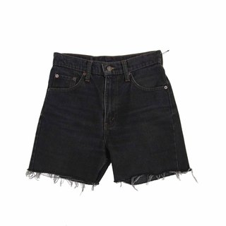 Tsubasa.Y Vintage House Black Levis004, Denim Shorts Denim Shorts