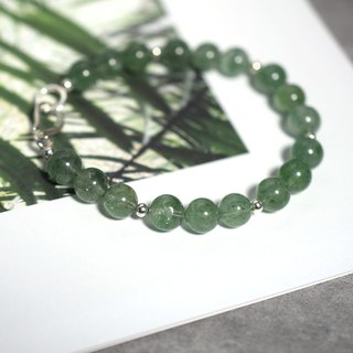 Natural green strawberry crystal bracelet VISHI original crystal 925 sterling silver increased personal charm gift exquisite
