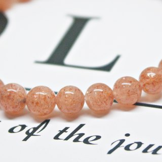Classic Style_ Natural Stone Bracelet_粉恋