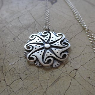 all creation silver pendant
