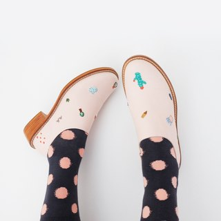 Strawberry Cactus Handcrafted Shoes