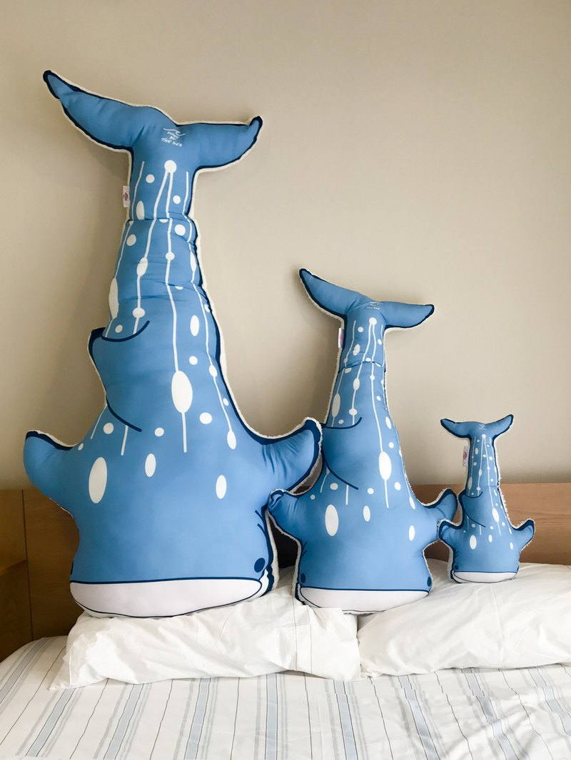 鯨鯊造型枕頭/抱枕 M 號