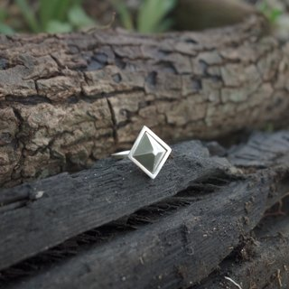 Sterling Silver - Geometric Cone Ring
