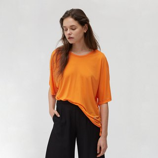 Copper Amide Cozy Loose Tee