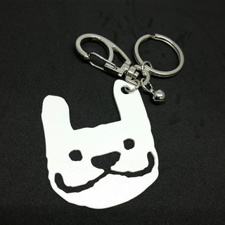 LAZYMARU- MA001097 bulk MARU key ring (white) Fighting accessories Taiwan's cultural and creative