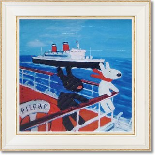 """Lisa and Caspian"" medium-sized box copy painting - cruise"
