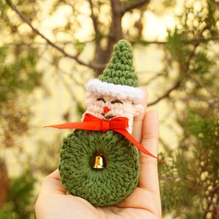 (Christmas gift exchange) · Independent Original Christmas gift exchange Christmas brooch handmade crocheted