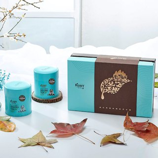 Taiwan tea_Shiny Sky A Tea Gift Set_Black Forest Oolong tea 127_2 cans
