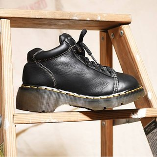 《Dr. Martens Shoes》黑色6eyes work鞋 DMG04