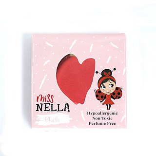 British [Miss Nella] children's water-based blush - lollipop red