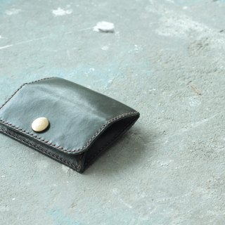 Make Your Choicesss small handmade Italian leather purse card package