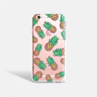 Pineapple iPhone 7 Case Clear iPhone 8 Case Clear iPhone 7 Plus Case iPhone 6S