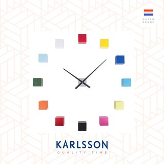 Karlsson, Wall clock DIY Cubic multi colour