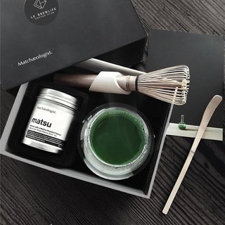 || Kyoto Matcha Tea Gift Box || Le Brewlife X Matchaeologist – Matcha Brewing Kit Kyoto Matcha Tea Gift Box