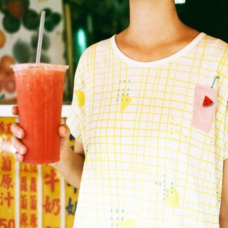 Urb. Watermelon Juice / Pocket Dress