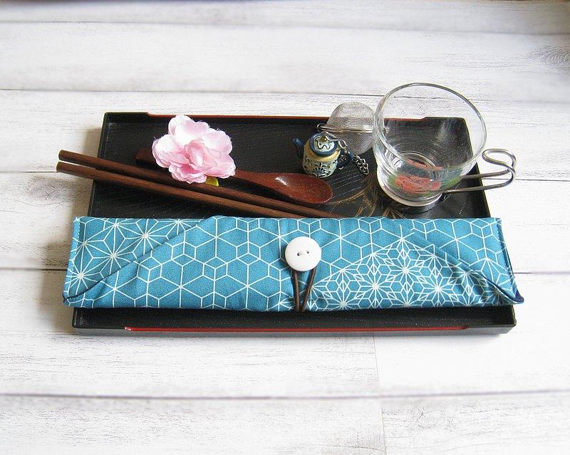 環保餐具組 餐具套 筷子套、餐具布套 飲管袋 CH-020