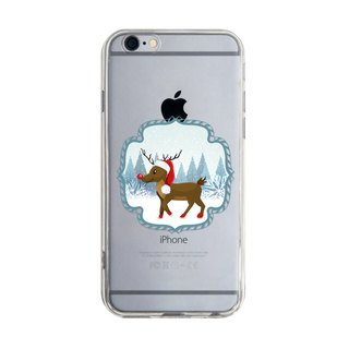 Christmas deer - Samsung S5 S6 S7 note4 note5 iPhone 5 5s 6 6s 6 plus 7 7 plus ASUS HTC m9 Sony LG G4 G5 v10 phone shell mobile phone sets phone shell phone case
