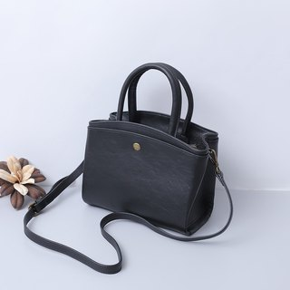 Leather cow leather handbag