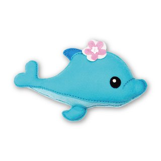 Fairy Land [Material Pack] Healing Animal Pillow - Dolphin