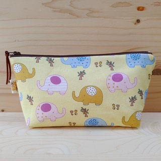 Cute elephant large storage bag / large pencil case