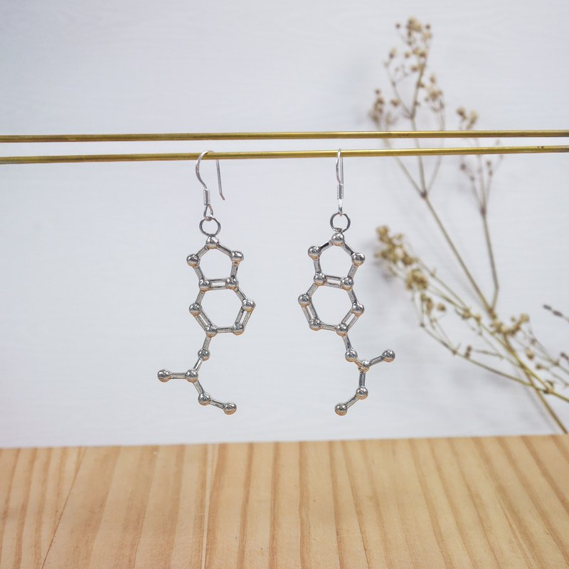 [Chemistry of the United States] ecstasy sterling silver earrings
