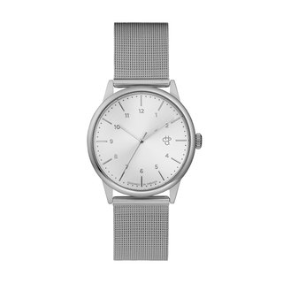 Swedish brand - Rawiya silver dial - Silver Milan with adjustable watch