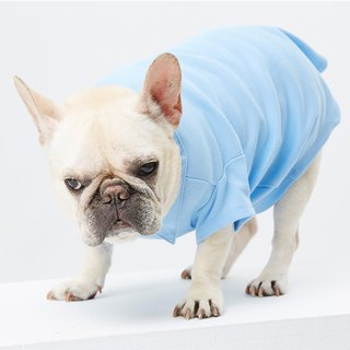 Fake two shirt collar POLO pet clothes - wide version