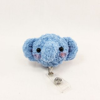 Elephant - Aqua Blue - Ticket Clip - Clip
