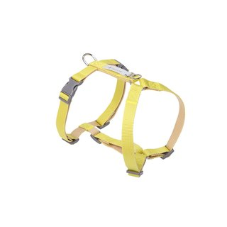 [Tail and me] Classic nylon belt with chest strap with yellow/khaki