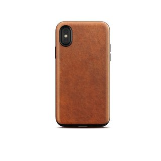 US NOMADxHORWEEN iPhone X Classic Leather Drop Protection Case (855848007199)