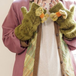 ☆ Hammock ☆ 彡 Hammock Mofhumov wool long gloves