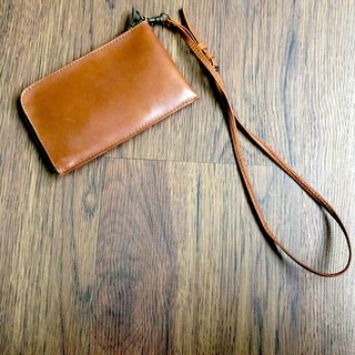 [Liang Xu leather art] neck bag / mobile phone bag / purse / clutch bag / hanging neck bag /