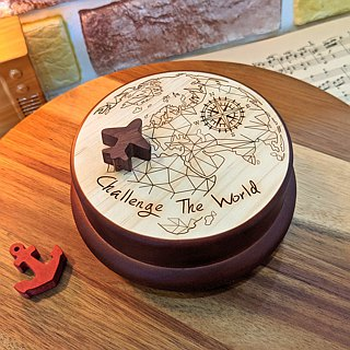 [Birthday Gifts, Commemorative Gifts, Christmas Gifts] Challenge the World European Customized Music Box