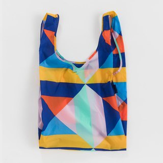 [New Products] BAGGU Environmental Storage Shopping Bag - Color Patchwork