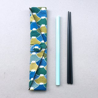 Adoubao-Chopsticks Set Pack - Yellow Green Blue & Mount Fuji