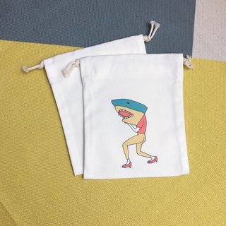 Drawstring pouch shark storage / gift / placement / constellation