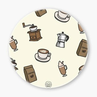 Snupped Ceramic Coaster - 陶瓷杯墊 - Coffee Lover