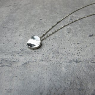 Full moon necklace_Yuanyuan Necklace 925 Sterling Silver Limited Designer Hand Made Brand Packaging