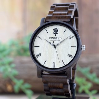EINBAND Reise Sandalwood 40mm Wooden Watch