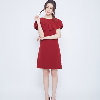 Lady sweet dress (red)