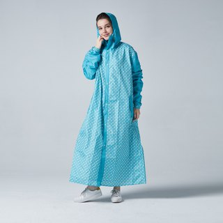 BAOGANI Backpacker Raincoat (Blue) + Shoe Cover