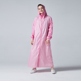 BAOGANI Backpacker Raincoat (Pink) + Shoe Cover